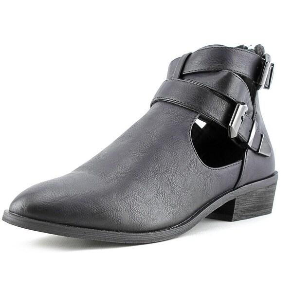 Mia Nadiya Women Black Boots