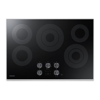 Samsung NZ30K6330 30 Inch Wide Built-In Electric Cooktop with Rapid Broil Burner