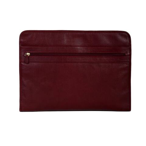 Scully Western Binder Three Way Zip Leather Italia Collection - One Size