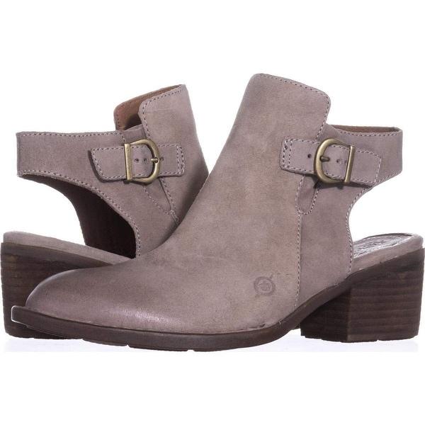 1f5e2a059e8 Shop Born Womens Margrit Leather Closed Toe Ankle Clog Boots - Free ...