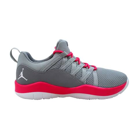 Nike Air Jordan Deca Fly GP Wolf Grey/White-Hyper Pink 844373-008 Pre-School