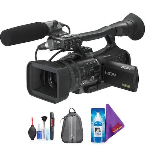 Sony HVR-V1U HDV Camcorder + Pro Accessories Bundle (Certified Refurbished)