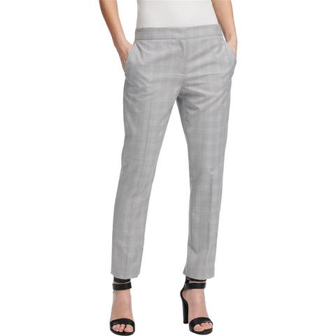 Dkny Womens Skinny Ankle Casual Trouser Pants