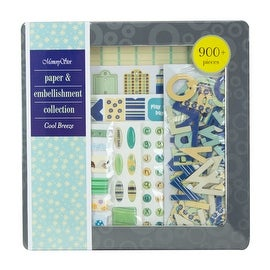 Memory Stor Paper & Embellishment Collection Cool Breeze