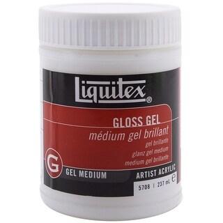 Liquitex Gloss Acrylic Gel Medium-8oz