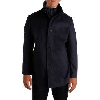 BOSS Hugo Boss Mens Wool Long Sleeves Coat - 42R