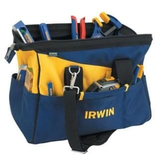 Irwin 4402020 Pro Soft Side Tool Organizer, Blue & Gold
