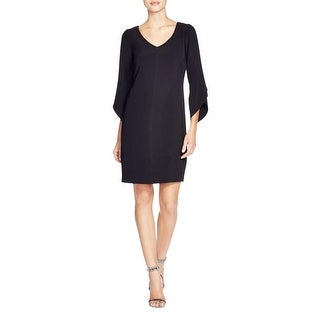 Laundry by Shelli Segal Womens Cocktail Dress 3/4 Sleeves Knee-Length