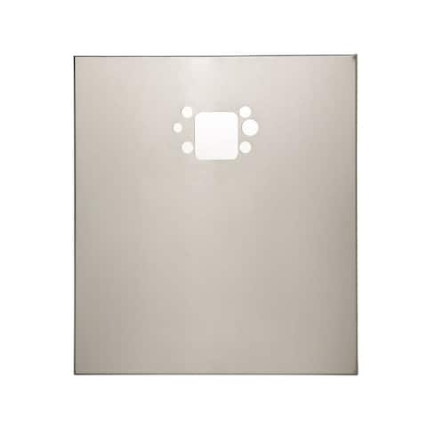 Haws BP15 Back Plate for 1920 Series - - Satin Stainless