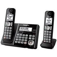 Panasonic Consumer  2 Handset Cordless Telephone ITAD DK, Black