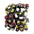 Italian Sterling Silver Reflections Multicolored Enameled Flowers Bead - Thumbnail 0