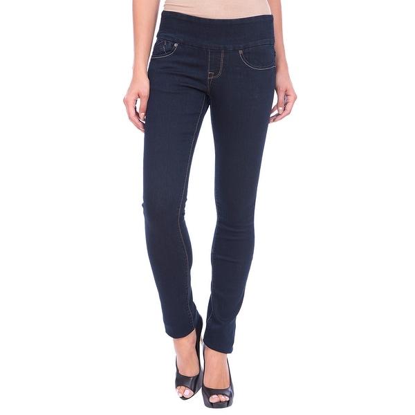 Lola Pull On Straight Jeans, Catherine-RB