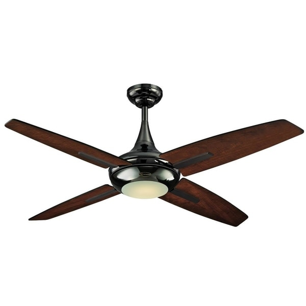 """Westinghouse 7204400 Bocca 52"""" 4 Blade Hanging Ceiling Fan with Reversible Motor, Blades, LED Light Kit, and Remote Control"""