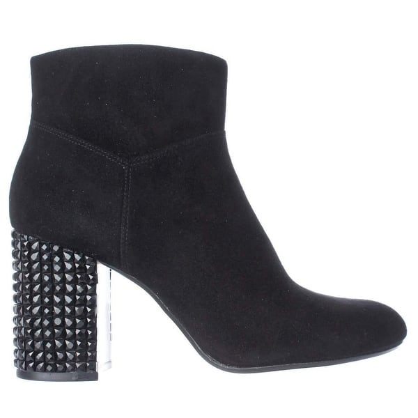 82754e651d762 Shop MICHAEL Michael Kors Arabella Studded Heel Ankle Boots, Black ...