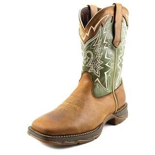 Durango Lady Rebel Men Round Toe Leather Brown Western Boot