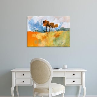 Easy Art Prints Paul Bailey's 'Four Trees' Premium Canvas Art