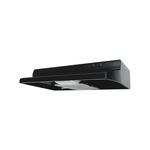 """Air King ESQZ236 230 CFM 36"""" Wide Energy Star Certified Under Cabinet Range Hood with Single 26 Watt Fluorescent Light from the"""
