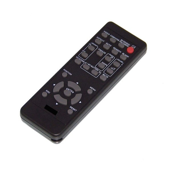 OEM Hitachi Remote Originally Shipped With: CP-EX400, CP-WX3041WN, CP-WX3530WN, CP-WX3541WN, CP-WX4041WN, CP-X2541WN