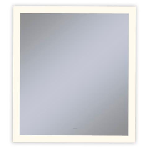 "Robern YM3040RPFPD3 Vitality 30"" W x 40"" H Rectangular Mirror with - Natural"