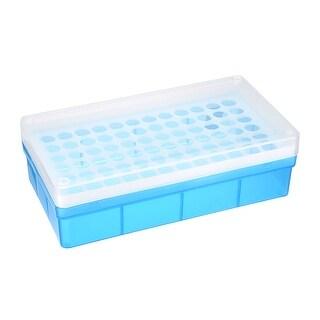 2 Pcs Tube Rack Polypropylene 72 Well Blue For 1 5ml 2ml