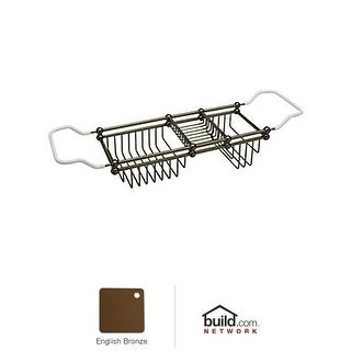"Rohl U.6910 Perrin and Rowe 32"" Adjustable Bath Rack - Polished Chrome"