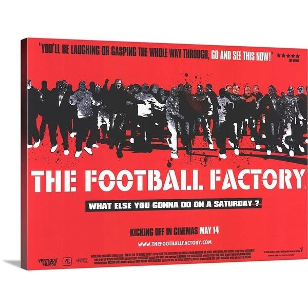 """The Football Factory (2004)"" Canvas Wall Art"