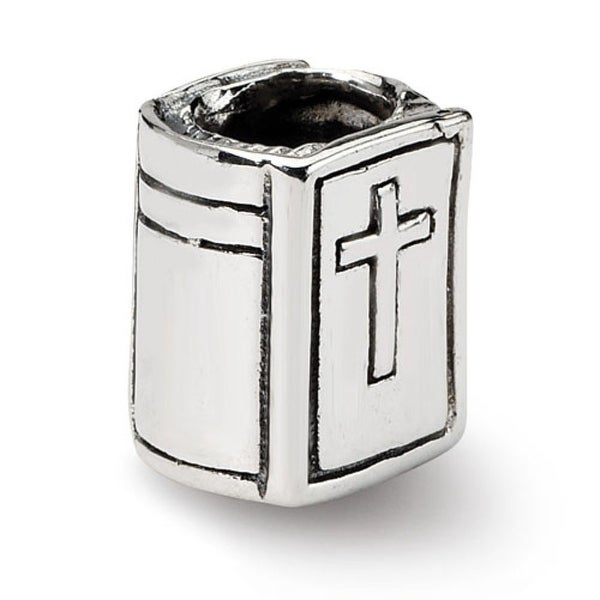 Sterling Silver Reflections Bible Bead (4mm Diameter Hole)