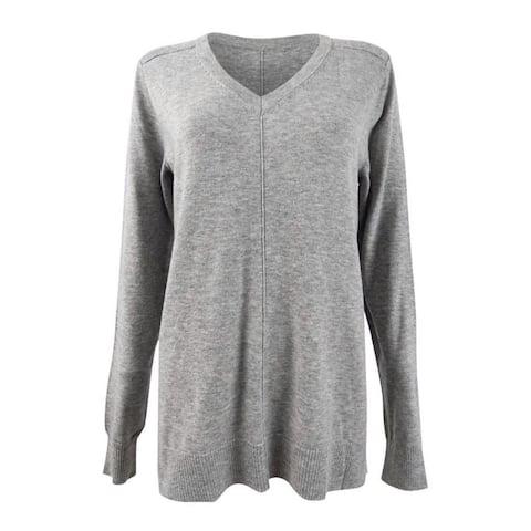 Karen Scott Women's V-Neck Pullover Sweater