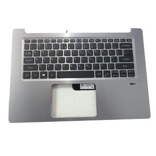 Acer Swift 3 SF314-52 Silver Upper Case Palmrest & Keyboard 6B.GQMN5.001