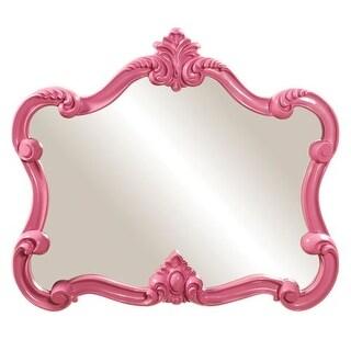 "Howard Elliott 56030 Veruca 32"" x 28"" Pink Mirror"