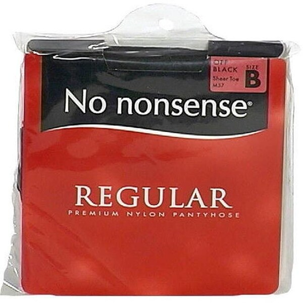 e6fc6077279 Shop No Nonsense Regular Pantyhose - Off Black - Size B - Free Shipping On  Orders Over  45 - Overstock - 25791894