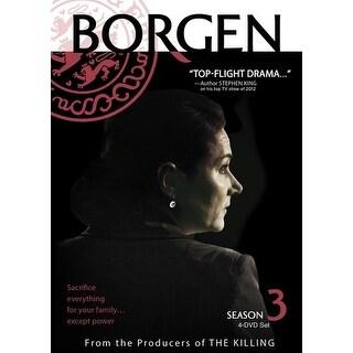 Borgen - Borgen: Season Three [DVD]