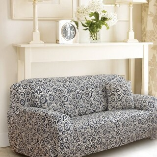 Unique Bargains Ring Pattern Stretch Sofa Slipcovers