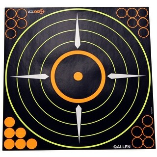 Allen cases 15222 allen cases 15222 ez see adhesive round bullseye targt 5/pk