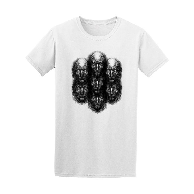 a4821677632c Shop Abstract Many Faces Tee Men s -Image by Shutterstock - Free Shipping  On Orders Over  45 - Overstock.com - 20885365