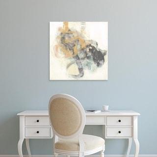 Easy Art Prints Jennifer Goldberger's 'Reticulate I' Premium Canvas Art