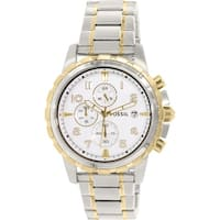 Fossil Men's Dean  Silver Stainless-Steel Analog Quartz Fashion Watch