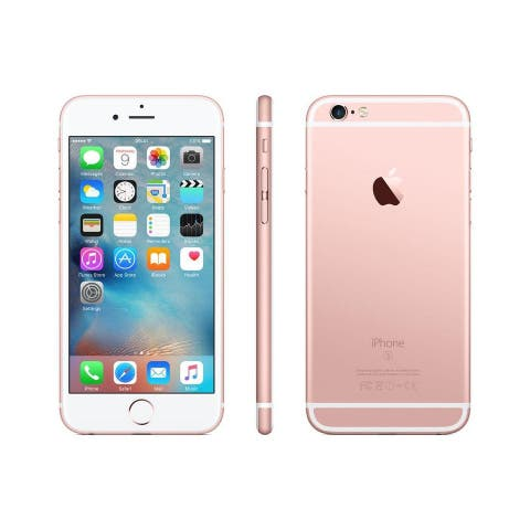 Apple iPhone 6S 16GB Rose Gold - Fully Unlocked (Refurbished) - Rose Gold