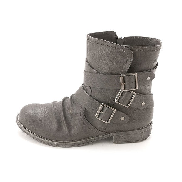 Sugar Womens IMPRESS Almond Toe Ankle Fashion Boots