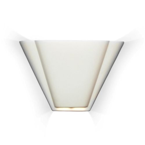 A19 700 Contempory Art Deco Sconce  Nova Scotia  Ceramic Lighting from the Islands of  sc 1 st  Overstock.com & Shop A19 700 Contempory Art Deco Sconce