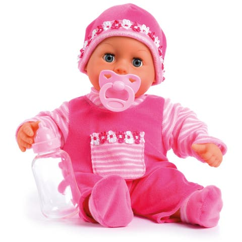 """First Words 15"""" Baby Doll in Pink"""