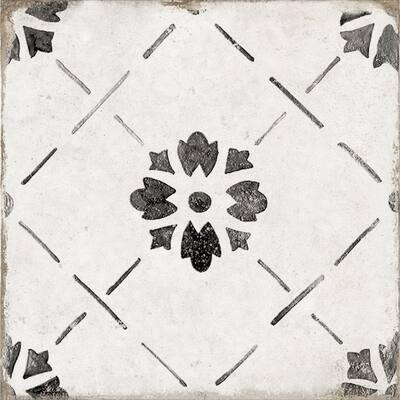 """Nocelle 8"""" x 8"""" Porcelain Patterned Wall & Floor Tile (Set of 29)"""
