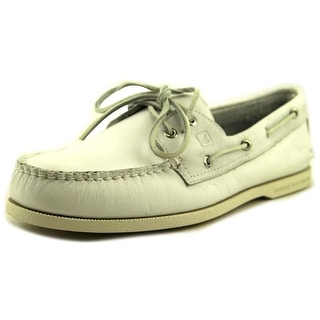 Sperry Top Sider A/O 2-Eye Cyclone Moc Toe Leather Boat Shoe