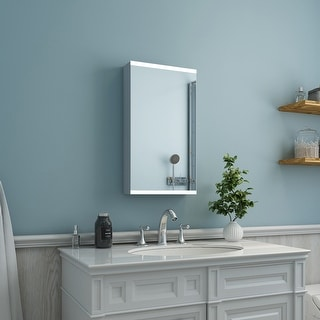 Link to Vivian Wall Mount LED Mirrored IR Sensor Lighted Medicine Cabinet Vanity - Clear Similar Items in Camcorders