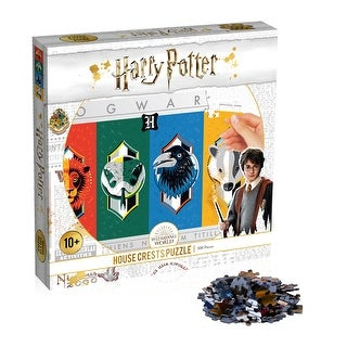 """Link to Top Trumps Harry Potter """"House Crests"""" 500 Piece Puzzle Similar Items in Decorative Accessories"""