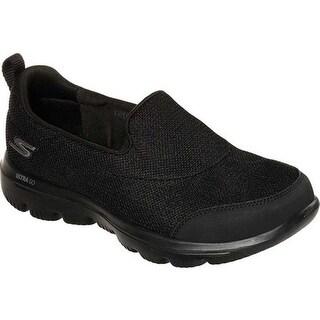 Skechers Women's GOwalk Evolution Ultra Reach Slip-On Shoe Black/Black