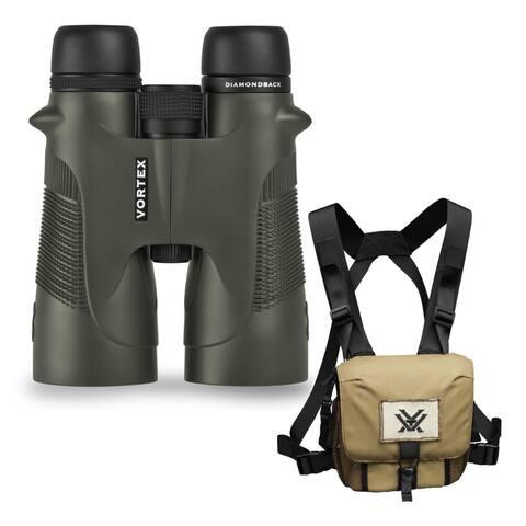 Vortex 10x50 Diamondback HD Roof Prism Binoculars with Harness Case