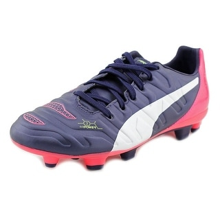 Puma EvoPOWER 3.2 FG Youth Round Toe Synthetic Multi Color Cleats