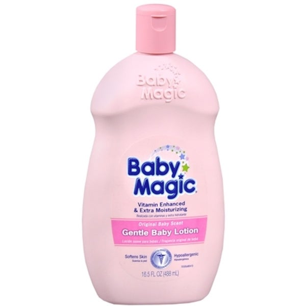 Baby Magic Gentle Baby Lotion Original Baby Scent 16.50 oz