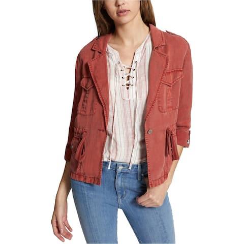 Sanctuary Clothing Womens Desert Safari Jacket, orange, Large